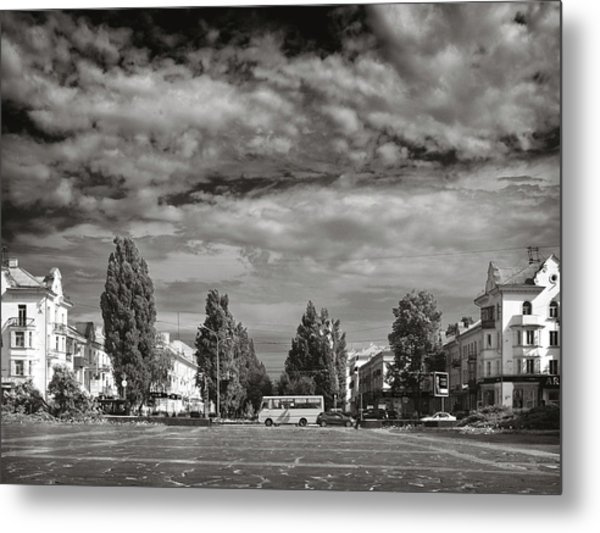 City Of Parks. Chernihiv, 2015. Metal Print