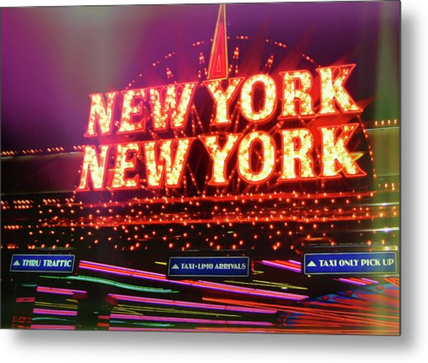 City That Never Sleeps Metal Print by JAMART Photography