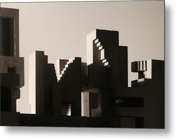Cityscape 1 Metal Print by David Umemoto