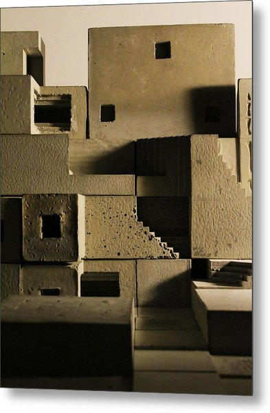Cityscape 11 Metal Print by David Umemoto