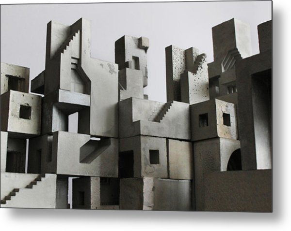 Cityscape 3 Metal Print by David Umemoto