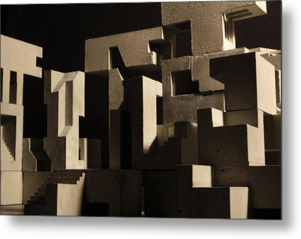 Cityscape 8 Metal Print by David Umemoto