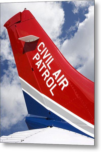 Civil Air Patrol Aircraft Metal Print