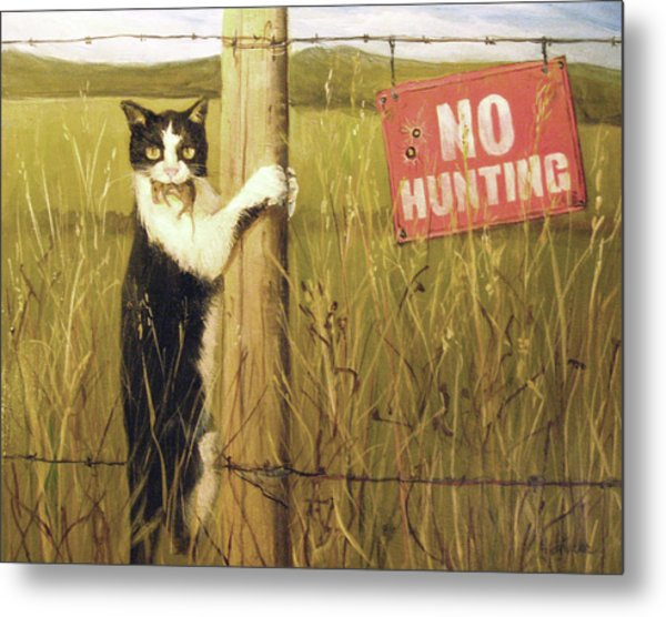 Civil Disobediance Metal Print