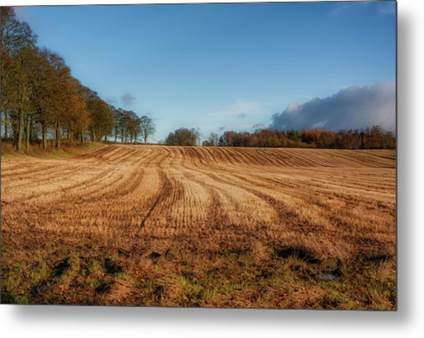 Metal Print featuring the photograph Clackmannanshire Countryside by Jeremy Lavender Photography