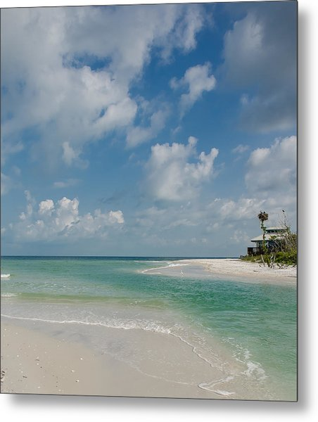 Clam Pass Metal Print