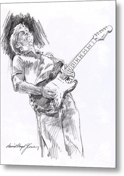 Clapton Blues Down Metal Print