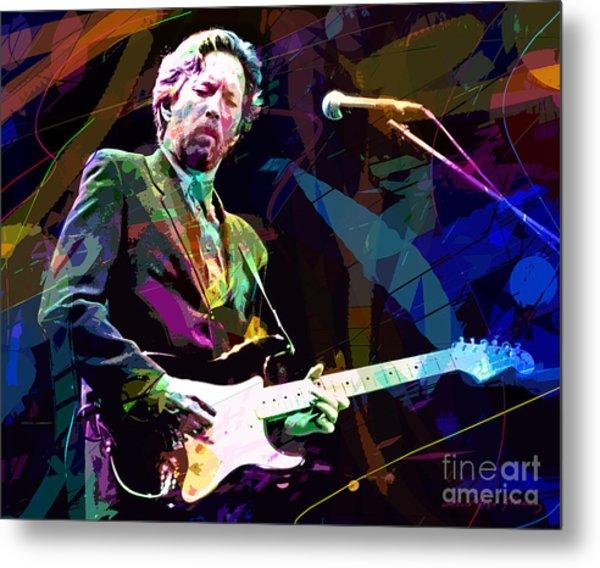 Clapton Live Metal Print