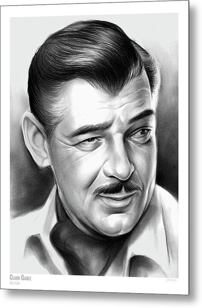 Clark Gable 26aug17 Metal Print