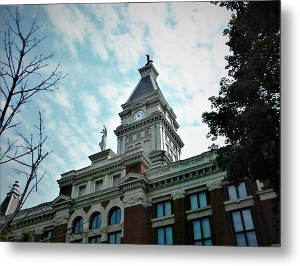 Clarksville Tn Courthouse Metal Print
