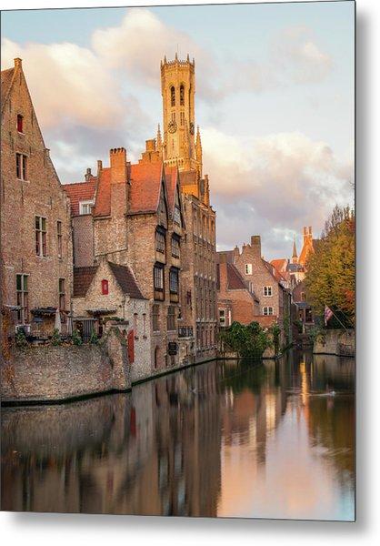 Classic Bruges Metal Print