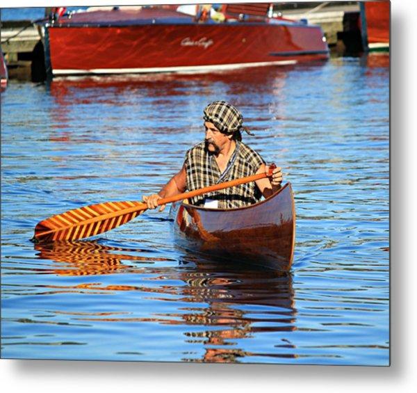 Classic Canoe Metal Print