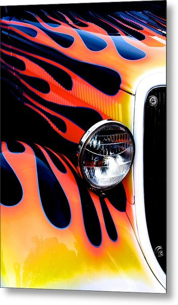 Classic Car Paint Upgrade Metal Print