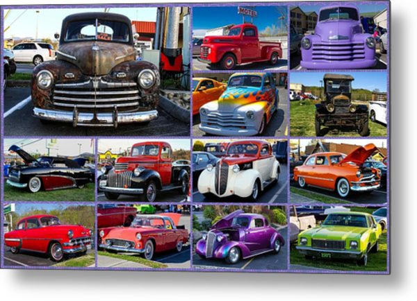 Metal Print featuring the photograph Classic Cars by Robert L Jackson