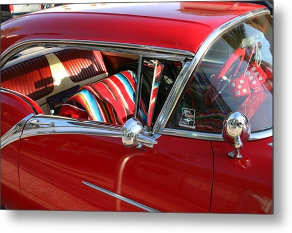 Classic Chevy Metal Print by Carl Purcell
