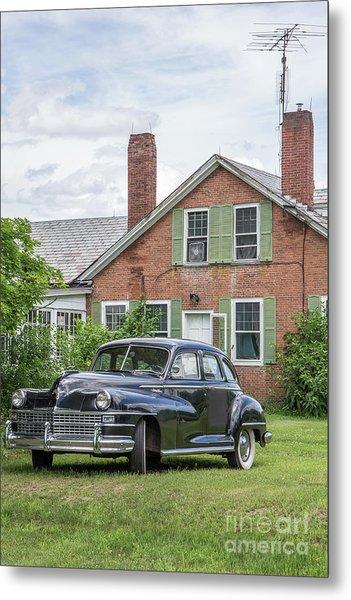Classic Chrysler 1940s Sedan Metal Print