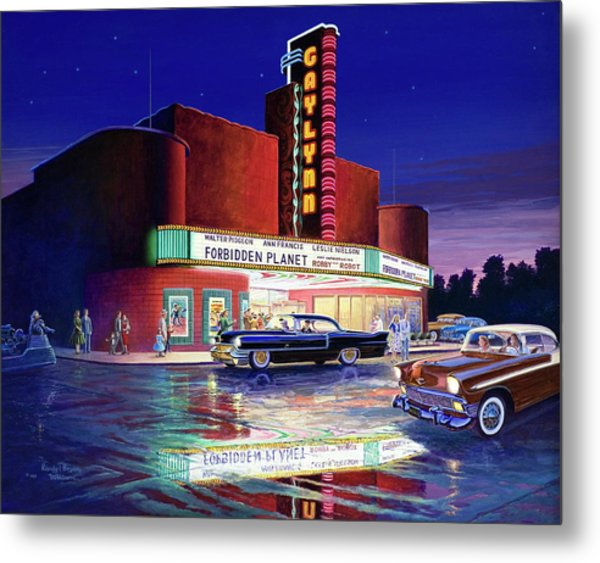 Classic Debut -  The Gaylynn Theatre Metal Print