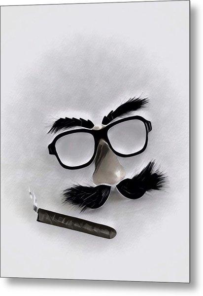 Classic Groucho Metal Print