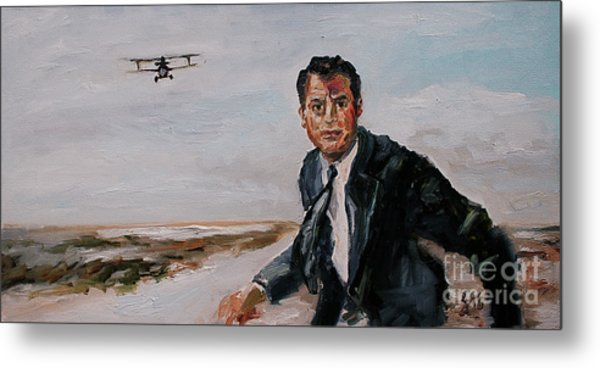 Classic Movies Cary Grant North By Northwest Metal Print