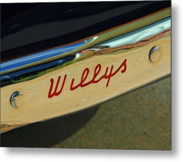 Classic Willys Jeep Metal Print