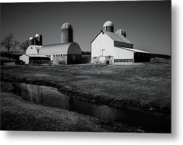 Classic Wisconsin Farm Metal Print