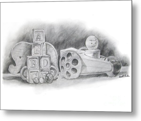Classic Wooden Toys Metal Print