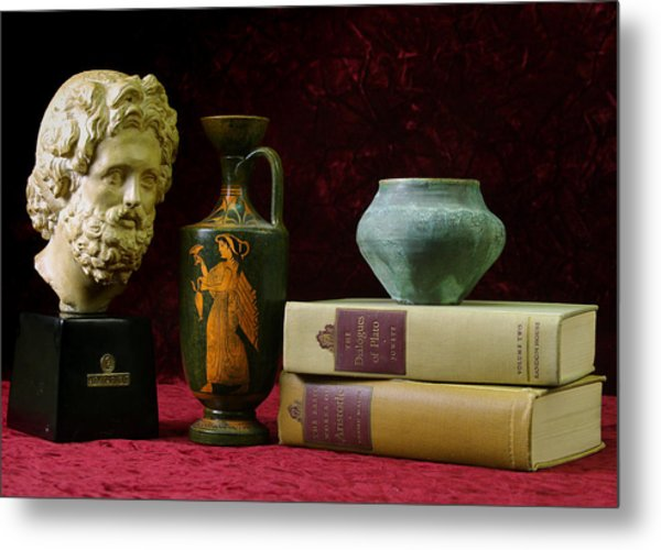 Classical Greece Metal Print