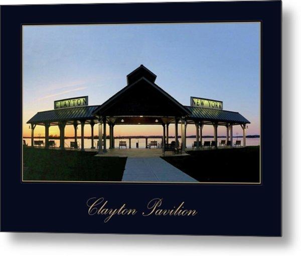 Clayton Pavilion Metal Print