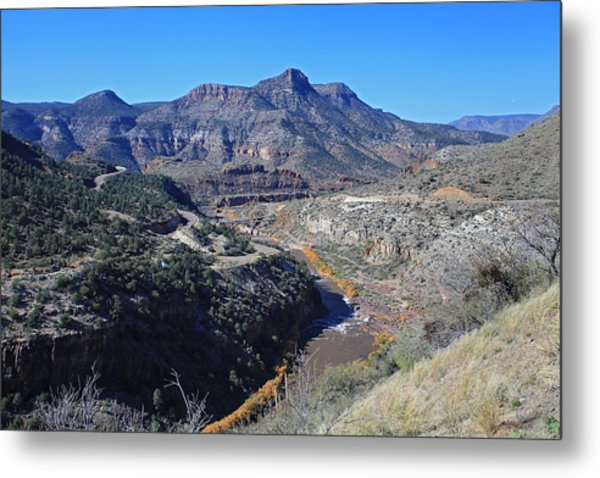 Clear And Rugged Metal Print