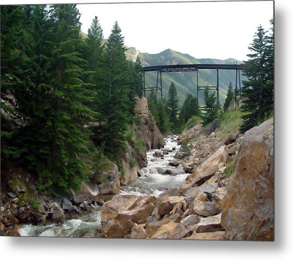 Clear Creek Colorado Metal Print