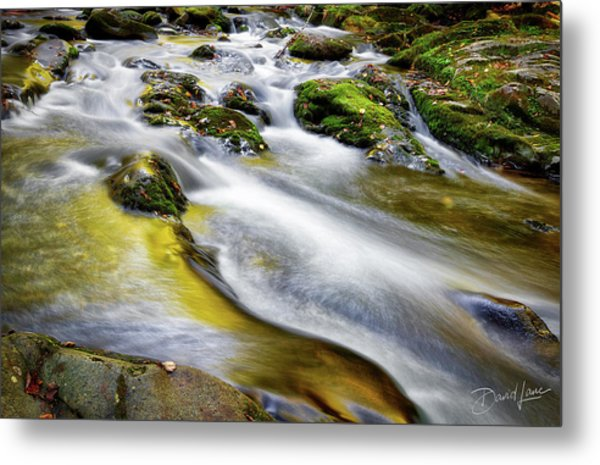 Metal Print featuring the photograph Clear Mountain Water  by David A Lane