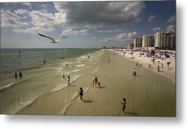 Clear Water Beach Metal Print by Patrick Ziegler