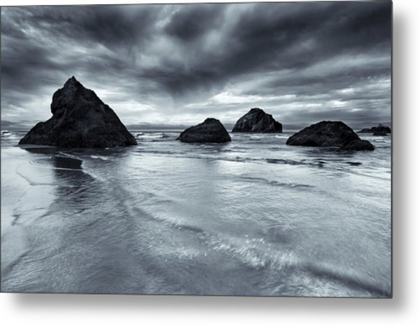 Clearing Storm Metal Print