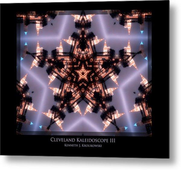 Cleveland Kaleidoscope IIi Metal Print by Kenneth Krolikowski
