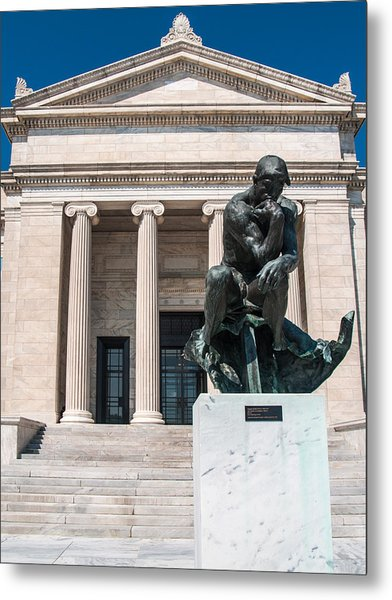 Cleveland Museum Of Art, The Thinker Metal Print