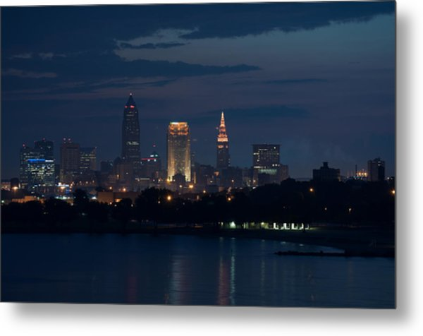 Cleveland Reflections Metal Print