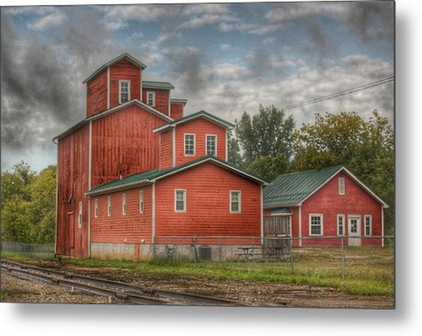 2007 - Aside The Tracks In Clifford Metal Print