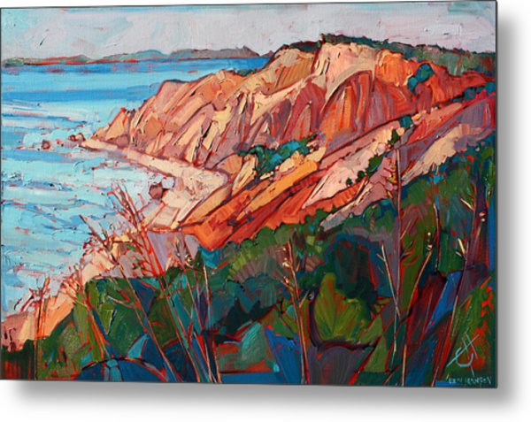 Cliffs In Color Metal Print