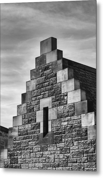 Metal Print featuring the photograph Climbing The Castle by Christi Kraft