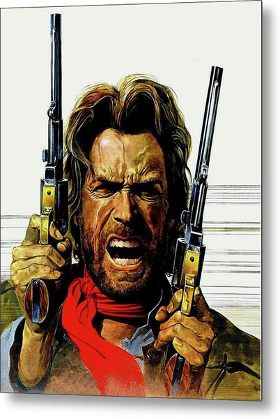Clint Eastwood As Josey Wales Metal Print