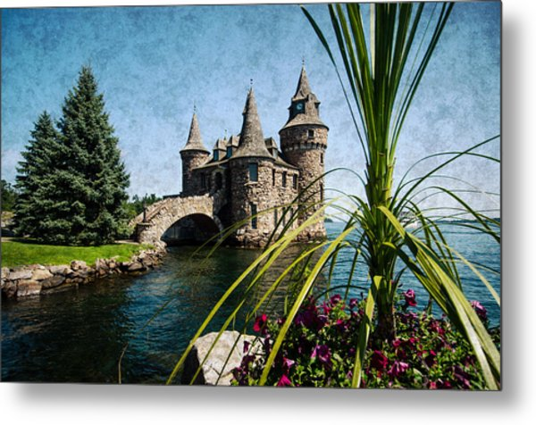 Boldt Castle Power House And Clock Tower Metal Print