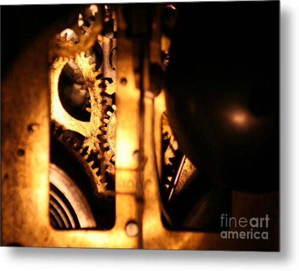 Clockwork Metal Print by Jason Williams