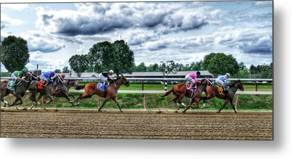 Close Competition Metal Print