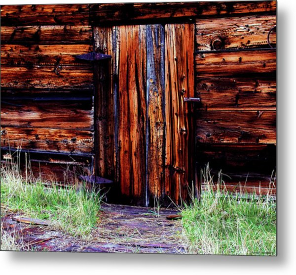 Closed And Forgotten Metal Print