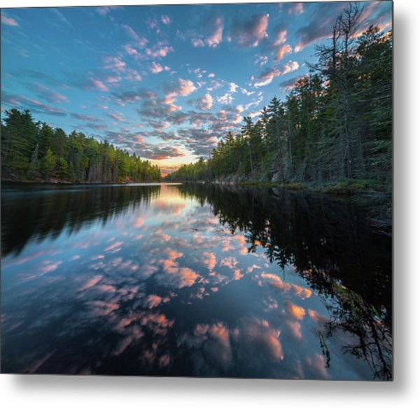 Cloud Atlas // Bwca, Minnesota Metal Print