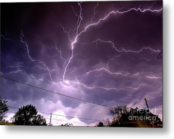 Cloud Crawler Metal Print by Brian Kalbe