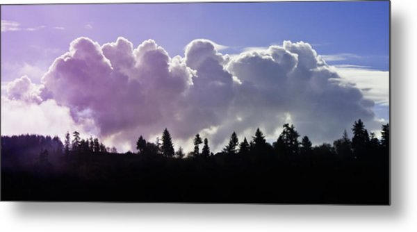 Cloud Express Metal Print