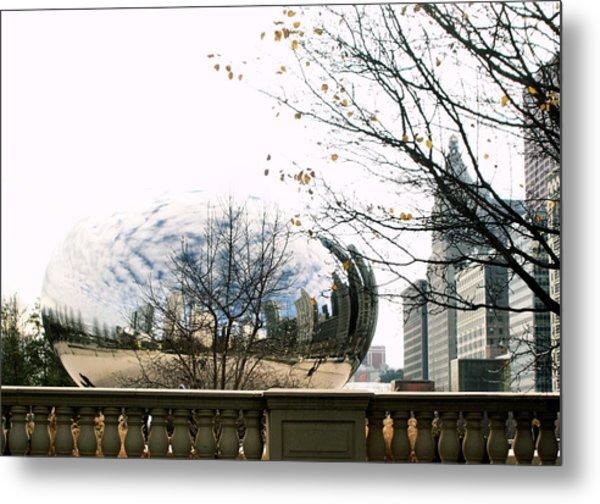 Cloud Gate - 1 Metal Print