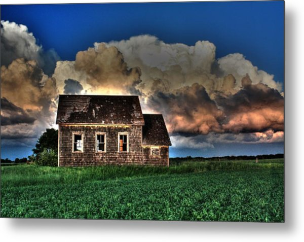 Cloud Over One Room School Metal Print
