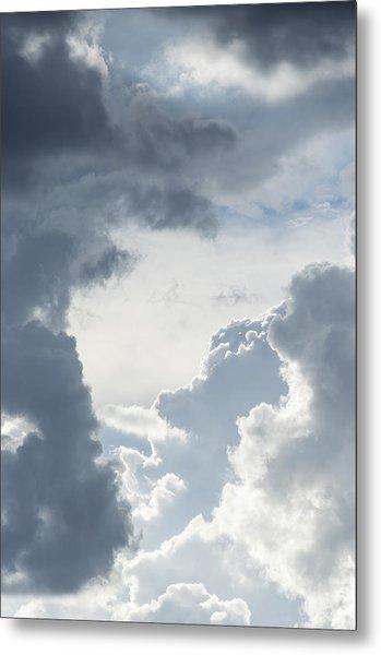 Cloud Painting Metal Print